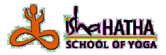 Isha Hatha School of Yoga Logo transparent
