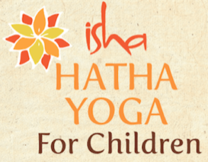 Isha Hatha Yoga For Children Logo