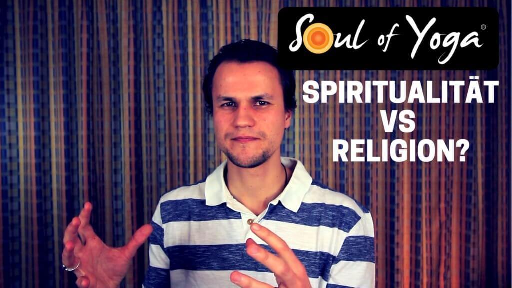 SPIRITUALITÄTVS RELIGION-